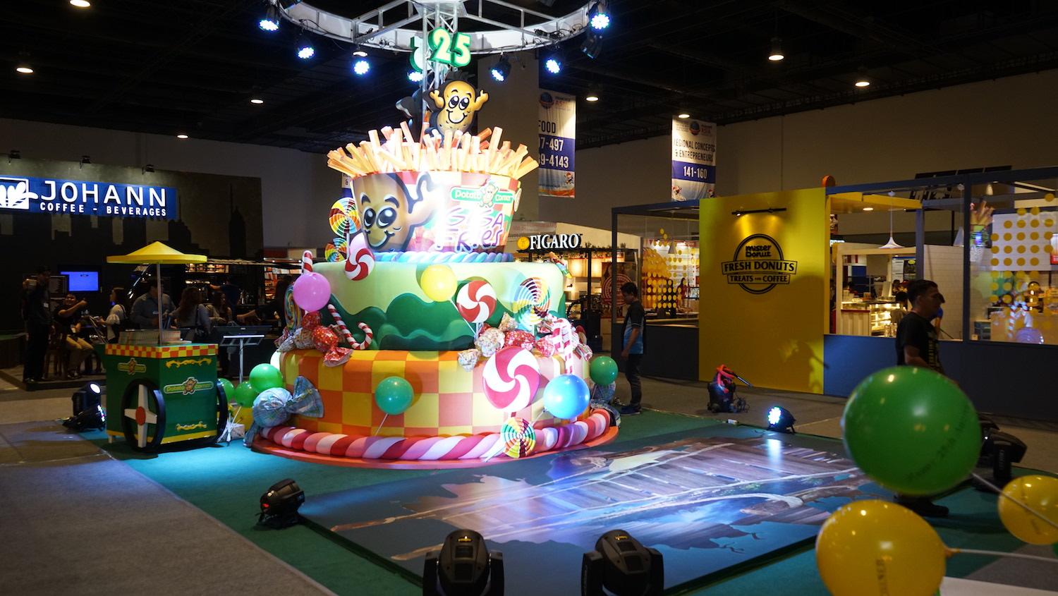 Firestarters Productions Inc  | BEST BOOTH DESIGN